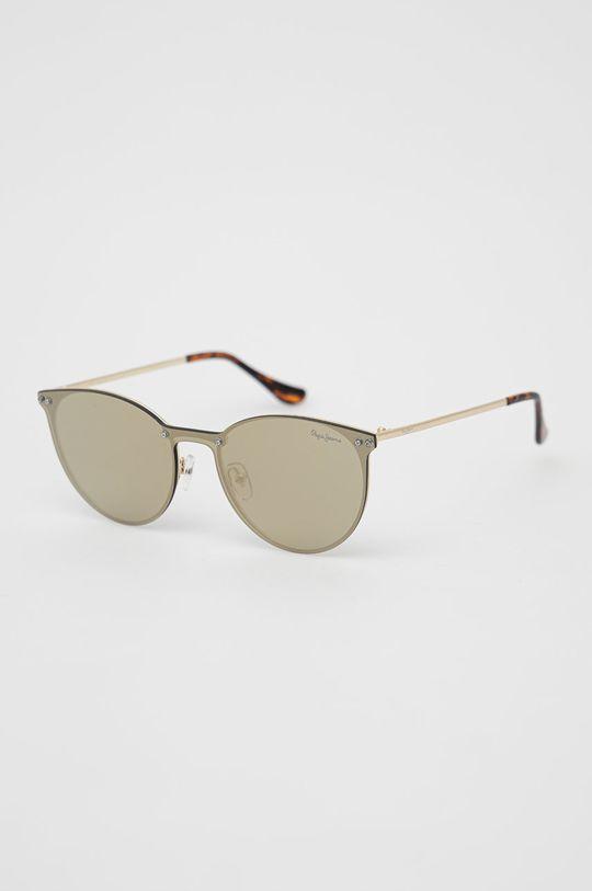 złoty Pepe Jeans - Okulary przeciwsłoneczne Finna Damski