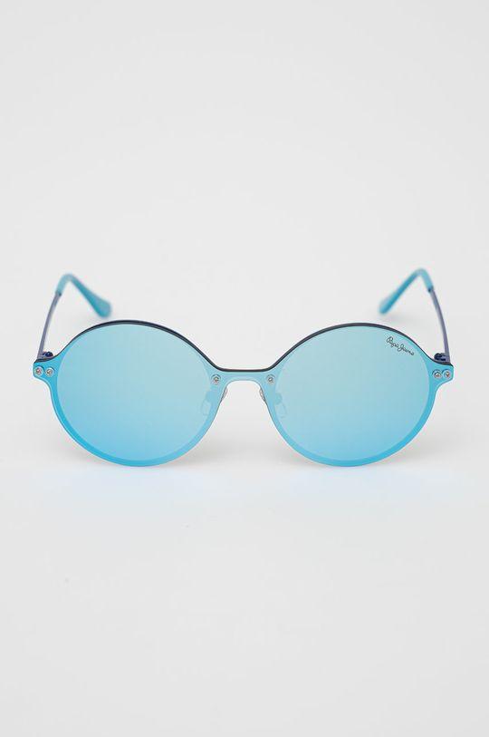 Pepe Jeans - Sluneční brýle Jessy tmavě tyrkysová