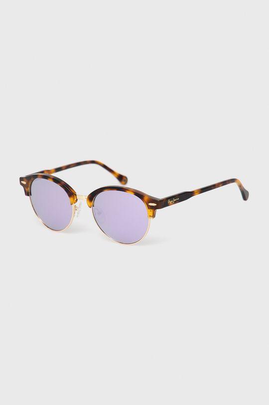 zlatá Pepe Jeans - Sluneční brýle Round Clubmaster Demi Dámský