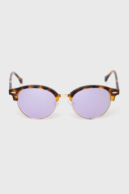 Pepe Jeans - Sluneční brýle Round Clubmaster Demi zlatá