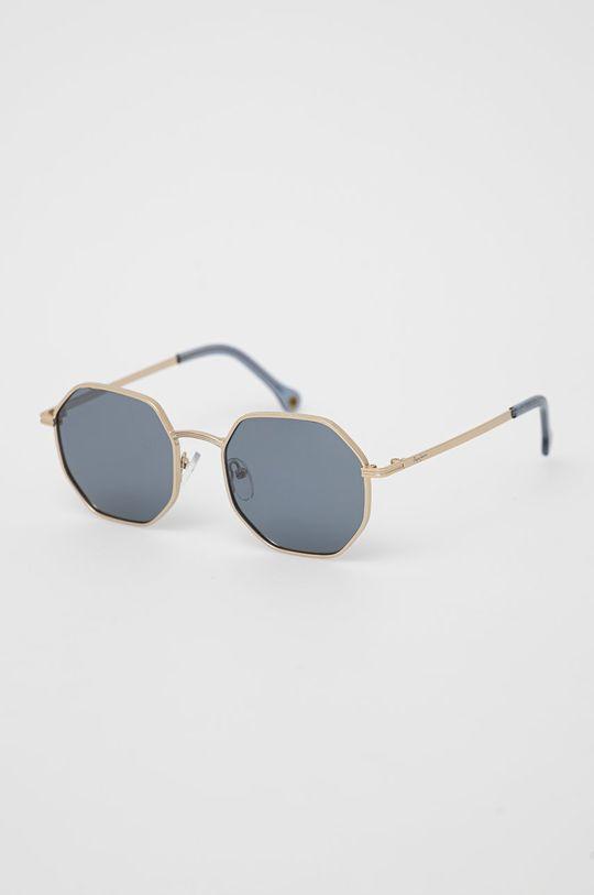 zlatá Pepe Jeans - Slnečné okuliare Octagon Metal Dámsky