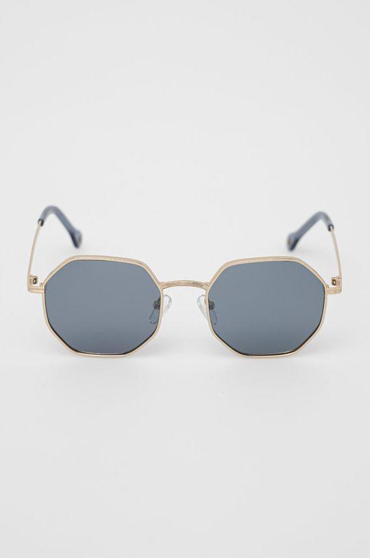Pepe Jeans - Slnečné okuliare Octagon Metal zlatá