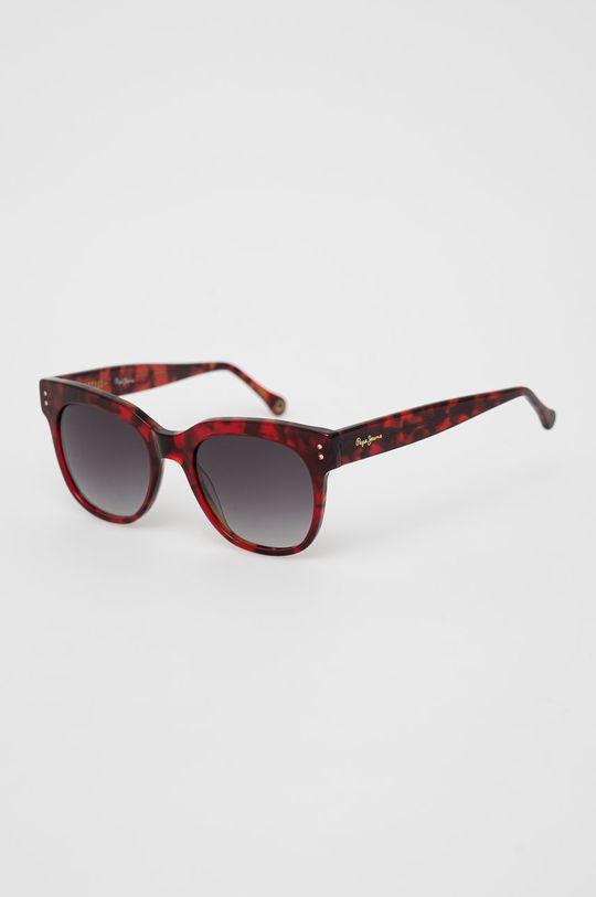 červená Pepe Jeans - Sluneční brýle Square Pinup Dámský