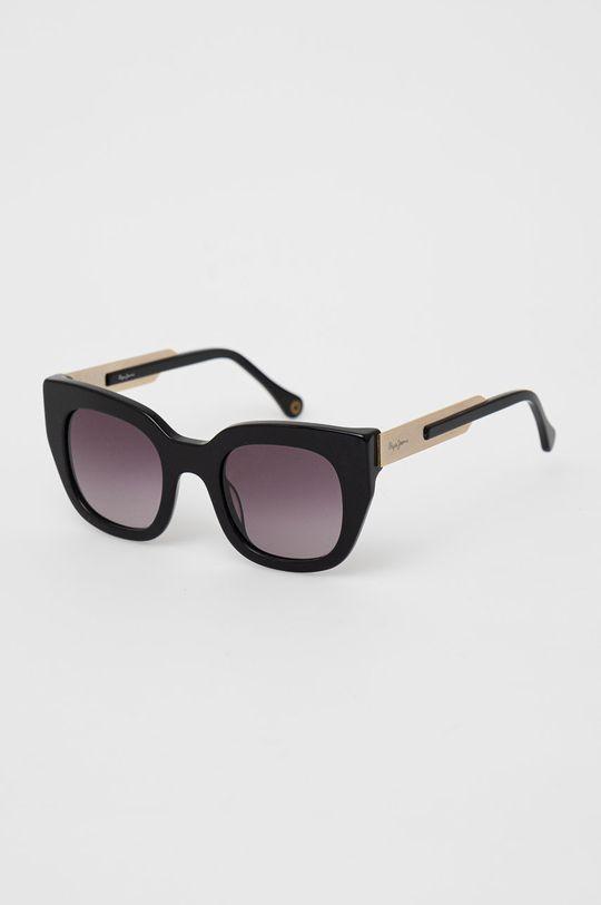 černá Pepe Jeans - Sluneční brýle Oversize Dámský