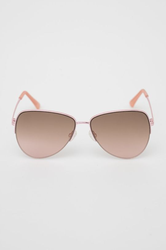 Pepe Jeans - Sluneční brýle Semi Rimless Aviator růžová