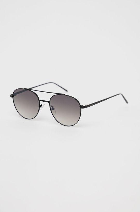 czarny Pepe Jeans - Okulary przeciwsłoneczne Round Metal Double Bridge Damski