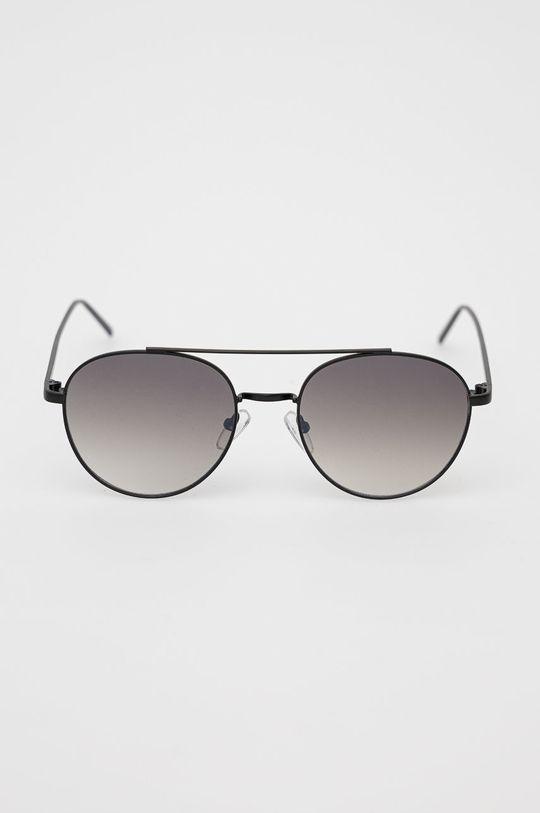 Pepe Jeans - Okulary przeciwsłoneczne Round Metal Double Bridge czarny