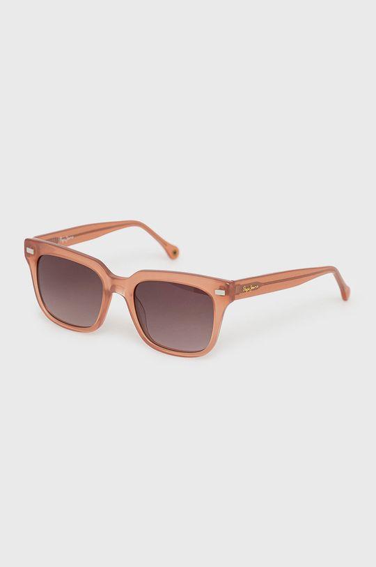 růžová Pepe Jeans - Sluneční brýle Maxi Squared Dámský