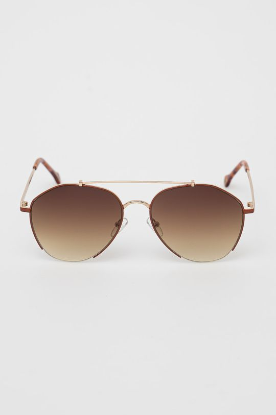 Pepe Jeans - Slnečné okuliare Maxi Aviator zlatá