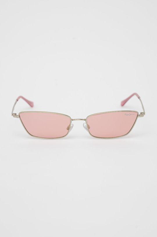 Pepe Jeans - Okulary przeciwsłoneczne Zoey pastelowy różowy