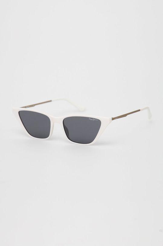 biały Pepe Jeans - Okulary przeciwsłoneczne Piper Damski