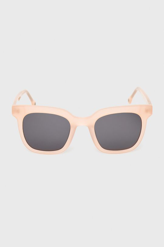 Pepe Jeans - Sluneční brýle Maxi Squared pastelově růžová