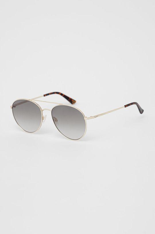 zlatá Pepe Jeans - Sluneční brýle Round Metal Double Bridge Dámský