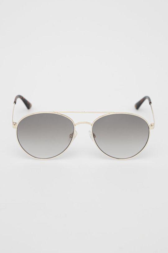 Pepe Jeans - Sluneční brýle Round Metal Double Bridge zlatá