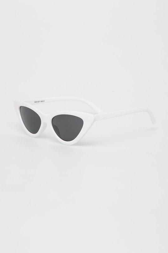 biały Noisy May - Okulary przeciwsłoneczne Damski