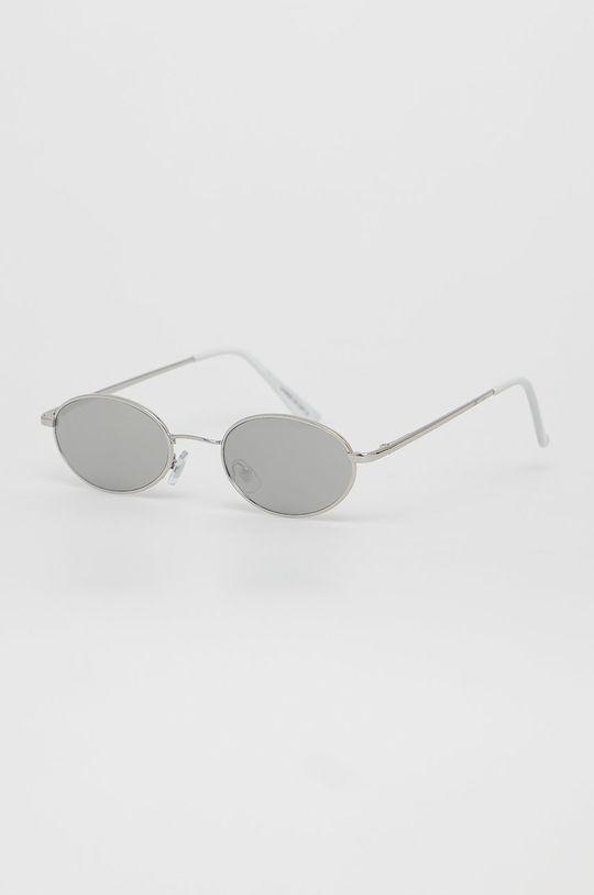srebrny Noisy May - Okulary przeciwsłoneczne Damski