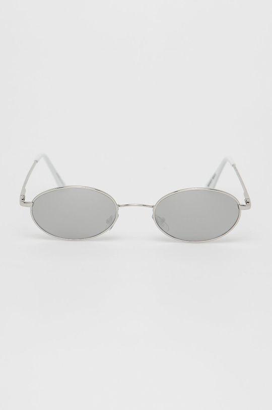Noisy May - Okulary przeciwsłoneczne srebrny