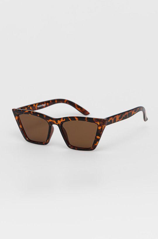 brązowy Noisy May - Okulary przeciwsłoneczne Damski
