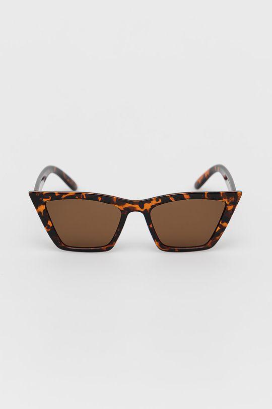 Noisy May - Okulary przeciwsłoneczne brązowy