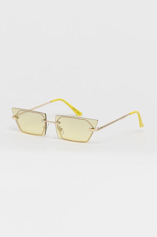 jasny żółty Noisy May - Okulary przeciwsłoneczne Damski