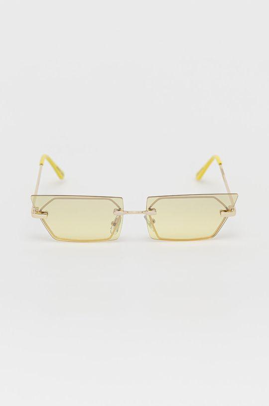 Noisy May - Okulary przeciwsłoneczne jasny żółty
