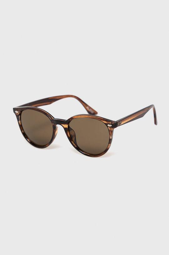 brązowy Aldo - Okulary przeciwsłoneczne Męski