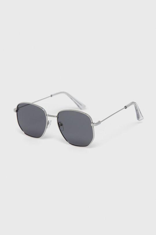 srebrny Aldo - Okulary przeciwsłoneczne Brauss Męski