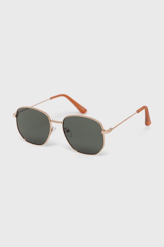 złoty Aldo - Okulary przeciwsłoneczne Brauss Męski
