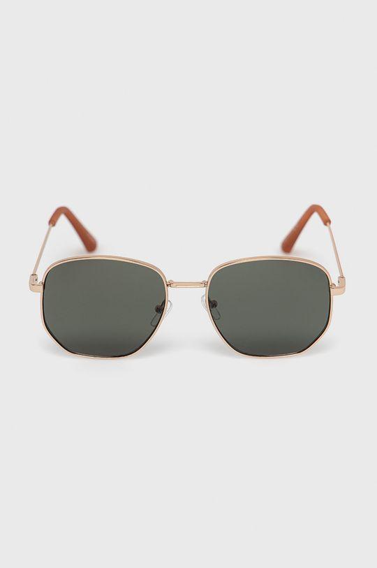 Aldo - Okulary przeciwsłoneczne Brauss złoty