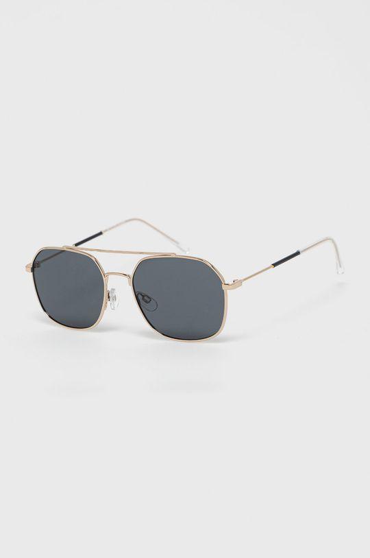 ciemny brązowy Selected - Okulary przeciwsłoneczne Męski