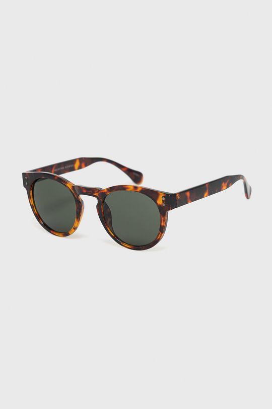 tmavohnedá Selected - Slnečné okuliare Pánsky