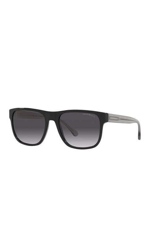 czarny Emporio Armani - Okulary przeciwsłoneczne Męski