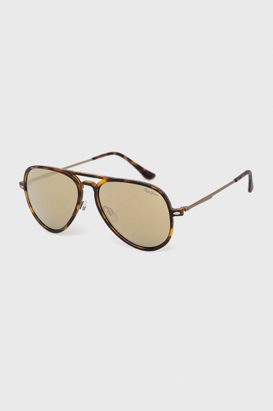 hnedá Pepe Jeans - Slnečné okuliare Pánsky