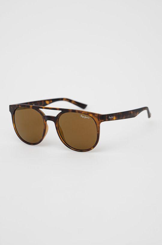 hnědá Pepe Jeans - Sluneční brýle Pánský