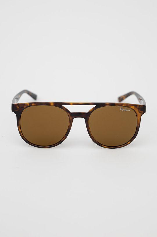 Pepe Jeans - Sluneční brýle hnědá