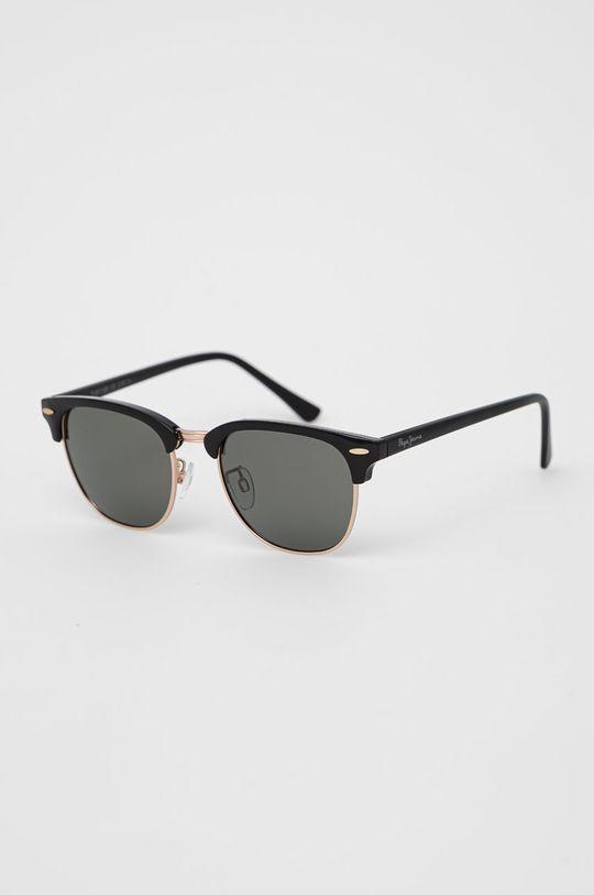 černá Pepe Jeans - Sluneční brýle Clubmaster Pánský