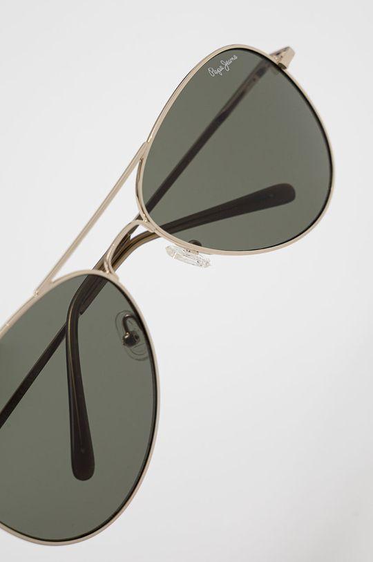 Pepe Jeans - Sluneční brýle Aviator zlatá