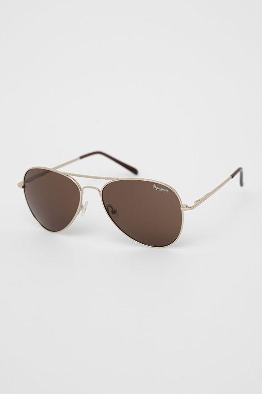 zlatá Pepe Jeans - Sluneční brýle Aviator Pánský