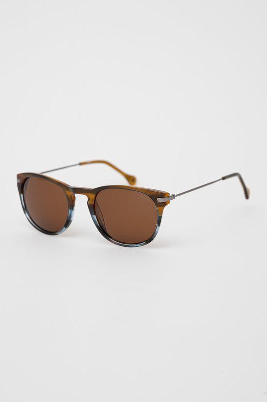 hnědá Pepe Jeans - Sluneční brýle Square Clubmaster Pánský