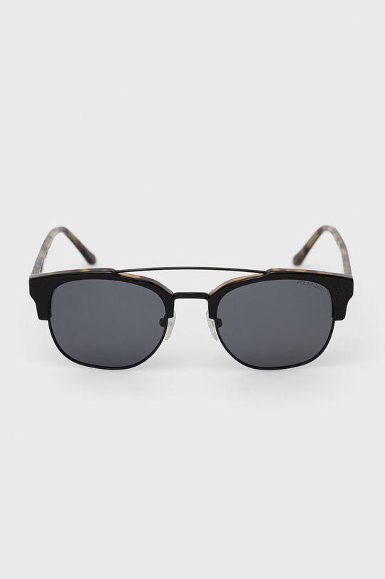 Pepe Jeans - Sluneční brýle Square Clubmaster černá
