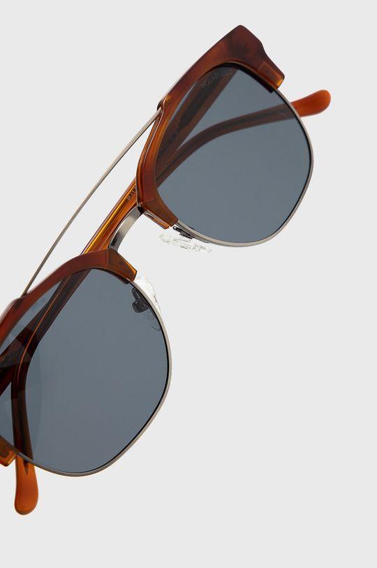 Pepe Jeans - Sluneční brýle Square Clubmaster hnědá