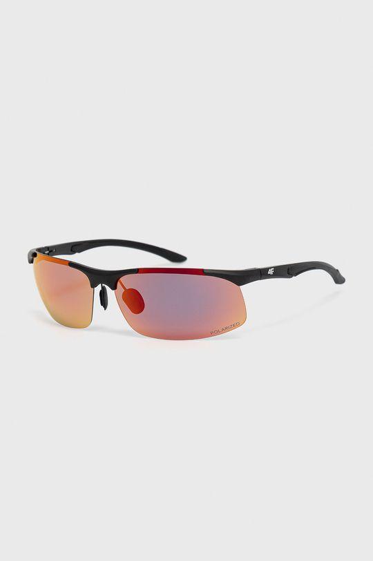 czerwony 4F - Okulary przeciwsłoneczne Unisex