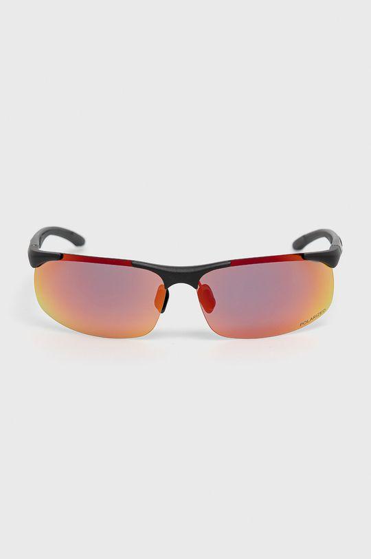 4F - Okulary przeciwsłoneczne czerwony