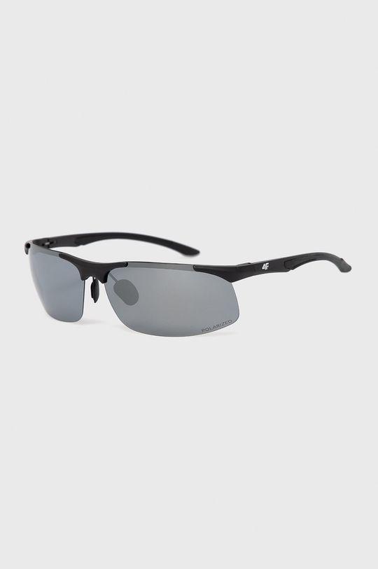 czarny 4F - Okulary przeciwsłoneczne Unisex