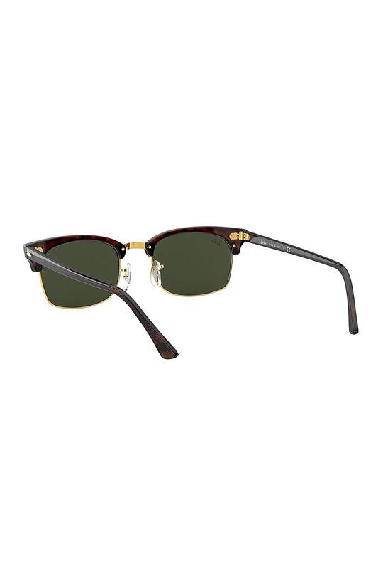 Ray-Ban - Okulary przeciwsłoneczne CLUBMASTER SQUARE Materiał syntetyczny