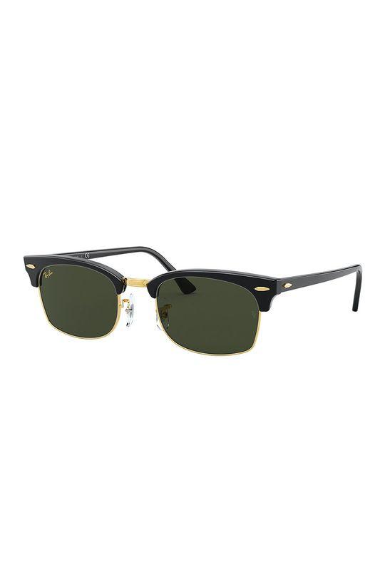 černá Ray-Ban - Sluneční brýle CLUBMASTER SQUARE Unisex