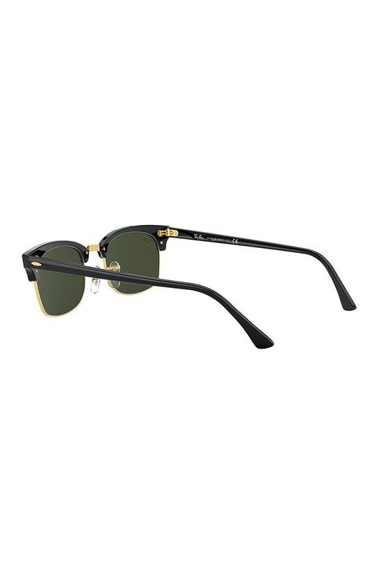 černá Ray-Ban - Sluneční brýle CLUBMASTER SQUARE