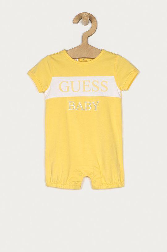 żółty Guess - Body niemowlęce 55-76 cm Chłopięcy