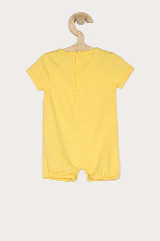 Guess - Body niemowlęce 55-76 cm żółty