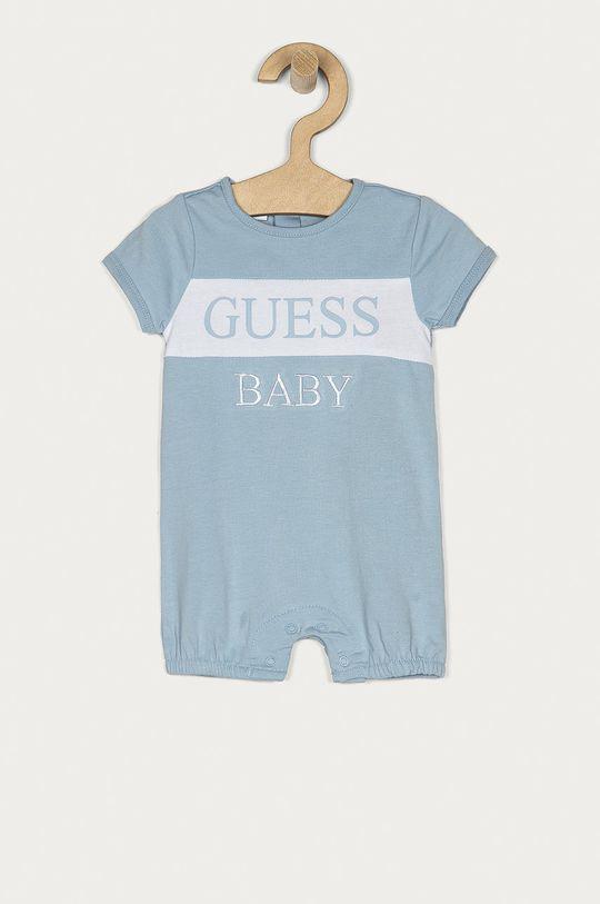 niebieski Guess - Body niemowlęce 55-76 cm Chłopięcy
